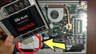 SSD Upgrade In Laptop As Second Drive | How To Delete Partition In CMD