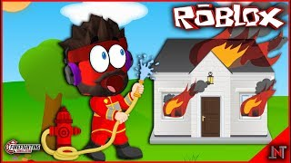 ROBLOX indonesia #176 Fire Fighting Simulator | So Firefighters