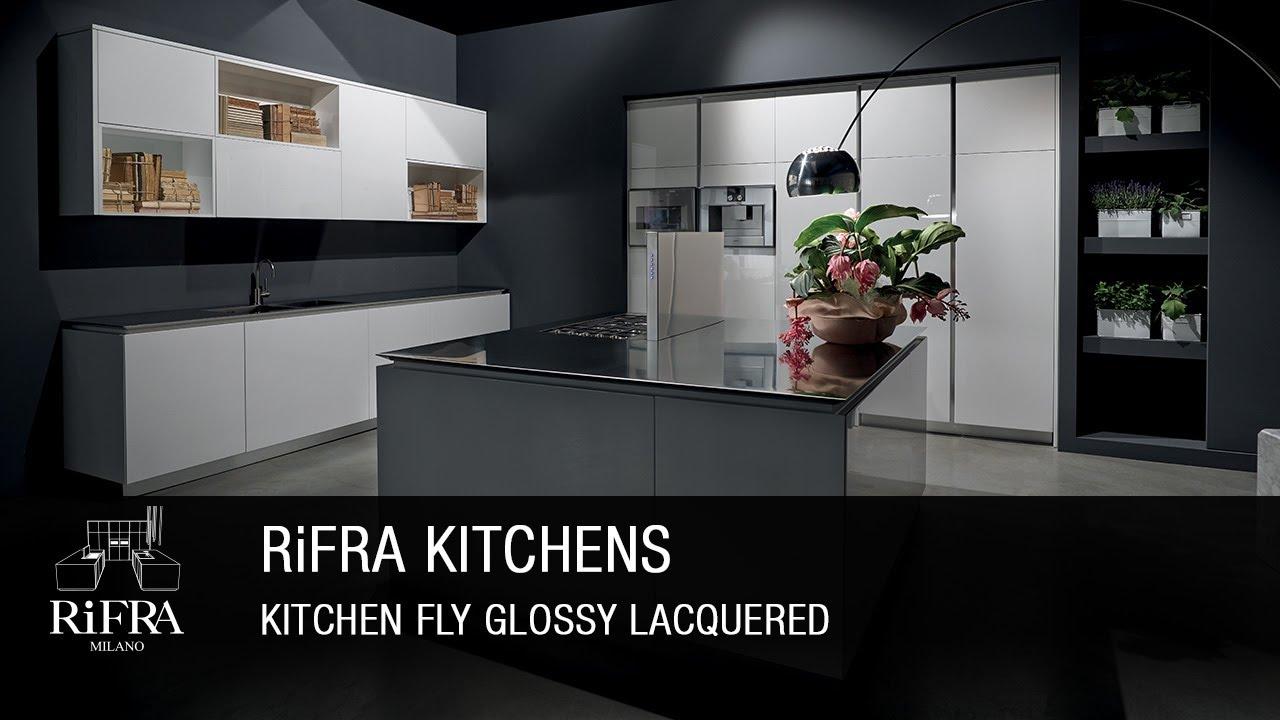 RiFRA Kitchen - FLY Design\'s Lightness - YouTube