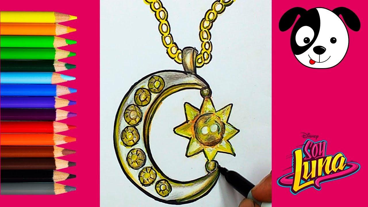 Como Dibujar Y Colorear El Patin De Soy Luna