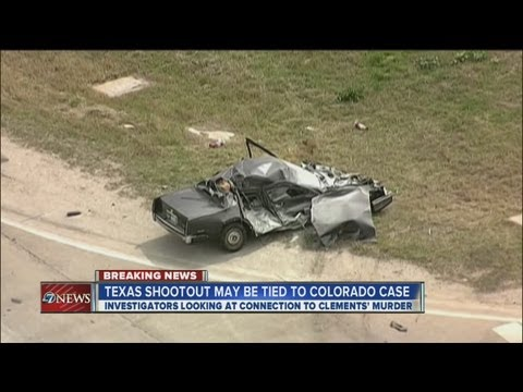 Wild Texas shootout may be tied to Colorado murders