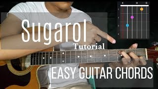 Sugarol - Maris Racal | Easy Guitar Chords Tutorial