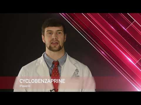 Cyclobenzaprine Or Flexeril Medication Information (dosing, Side Effects, Patient Counseling)