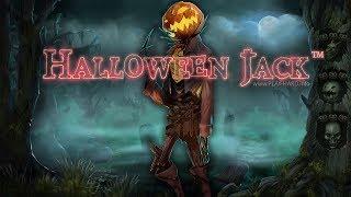 Halloween Jack (NetEnt) & BONUS GAME
