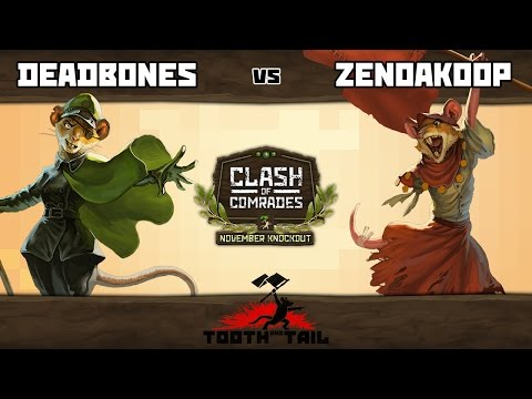 Tooth And Tail   Deadbones vs. ZenoAkoop   Nov. Knockout [Grand Finals]