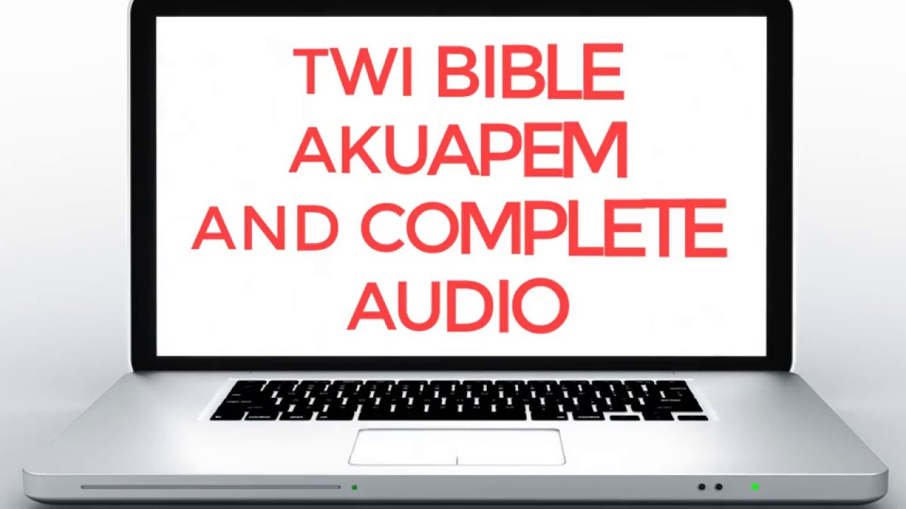 Twi Bible Akuapem - by ChristApp - Books & Reference Category - 237