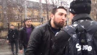 Поведение не людей,а животных Полное видео нападения площадь Рогожской Заставы памятник В.И. Ленина
