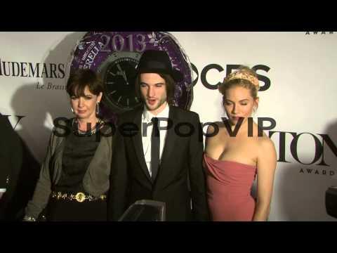 Phoebe Nicholls, Tom Sturridge and Sienna Miller at The 6...