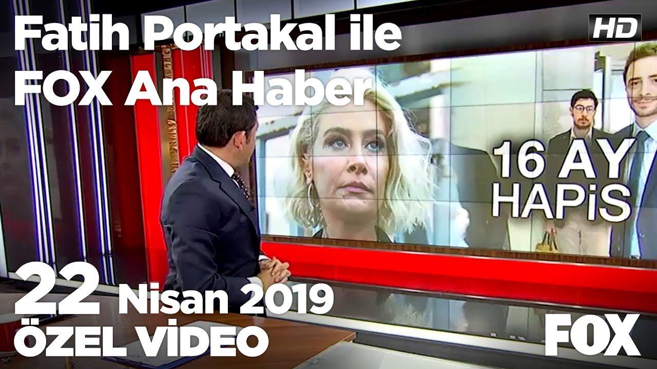Kural'a kadına şiddetten 16 ay hapis cezası... 22 Nisan 2019 Fatih Portakal ile FOX Ana Haber