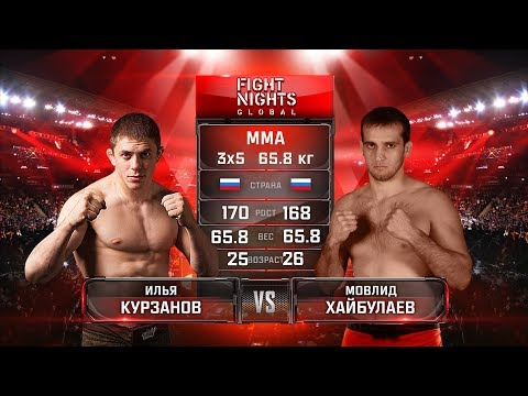 Илья Курзанов vs. Мовлид Хайбулаев / Ilya Kurzanov vs. Movlid Khaybulaev