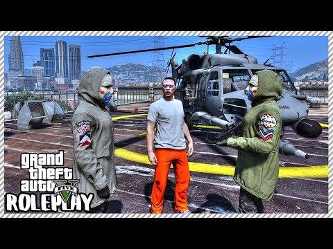 GTA 5 Roleplay - Prison Break   RedlineRP #618