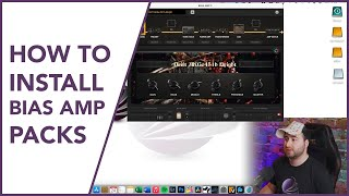 HOW TO PROPERLY INSTALL BIAS AMP DESKTOP PACKS