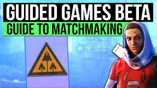 DESTINY 2 | HOW TO USE GUIDED GAMES! - Nightfall Tickets & Solo Matchmaking for Powerful Rewards!