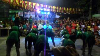 Dance Performance of Green Team (H5 Dance Group)