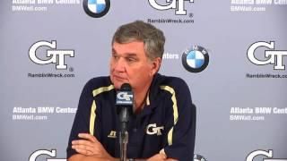 #GTvsDUKE: Paul Johnson weekly press conference