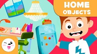 Learning the house - Vocabulary Builder for kids