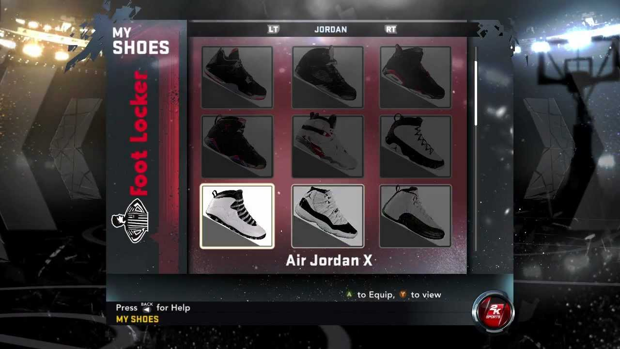 how to unlock all jordan shoes in nba 2k11 xbox 1 749189