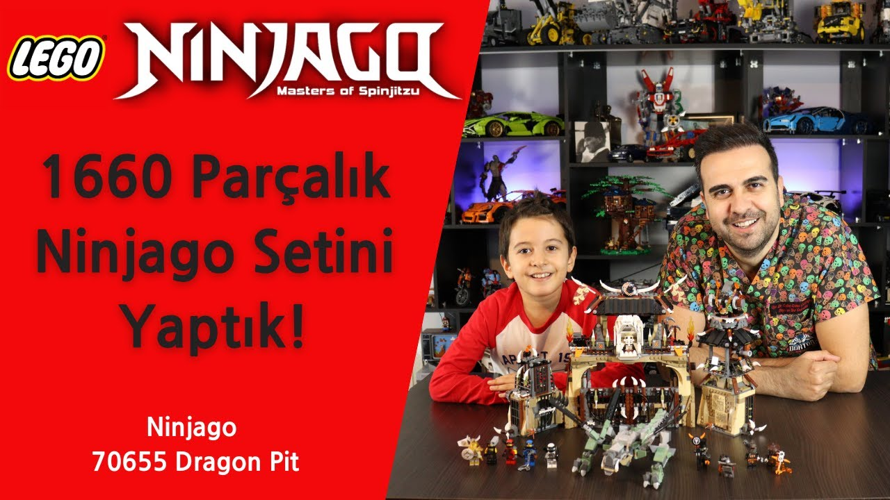 Lego Ninjago 70655 Dragon Pit ( Unboxing, Speed Build, Review )
