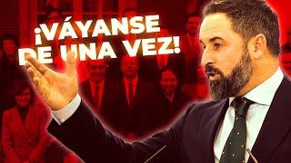 ⚡️ Réplica de Santiago Abascal a Sánchez para exigir el final del estado de abuso