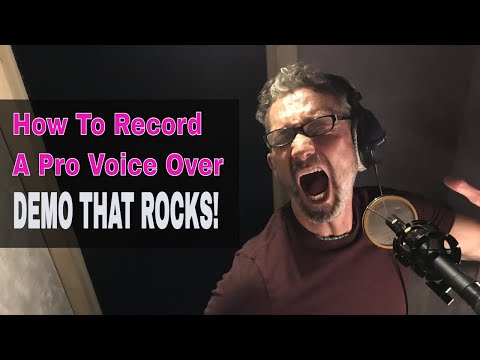 Legendary Voice Over Actor Cam Clarke Records Video Games Demo