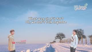 Jimin & JK - We don't talk anymore [ Lyrics ]