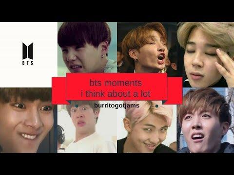 bts moments i think about a lot #1 || burritogotjams
