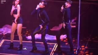 160807 jyp nation min fei miss a bambam got7 jokwon hush jypnation concert 2016