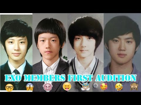 EXO Members First Audition (Pre-Debut)