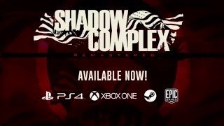 ShadowComplex Remastered - Now Available on PS4, Steam, Xbox One, and Windows 10