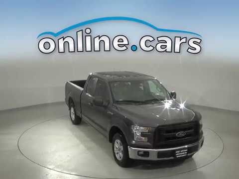 C12893NA Used 2015 Ford F-150 RWD Super Cab Gray Truck Test Drive, Review, For Sale