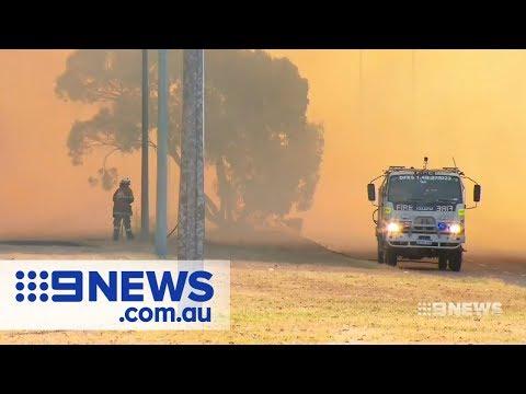 Bushfire Burns Through Forrestdale In Perth's South | Nine News Australia