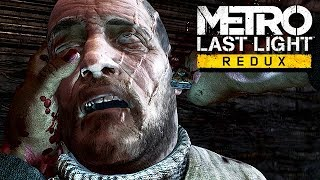 Metro Last Light Redux Gameplay German #01 - Gedankenkontrolle