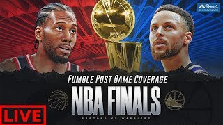 Warriors vs Raptors Game 6 Post Game Coverage LIVE | NBA Finals 2019