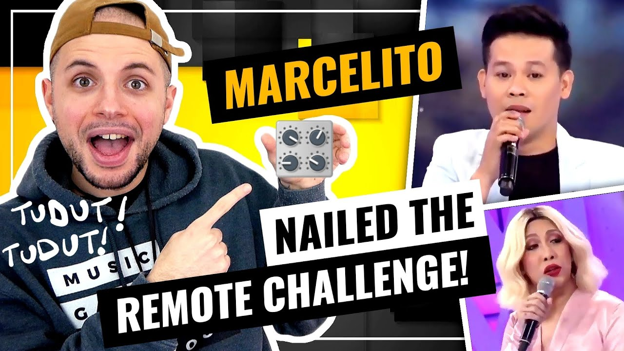 Marcelito Pomoy - Remote Challenge | Endless Love | GGV | THIS DUDE IS TALENTED | HONEST REACTION