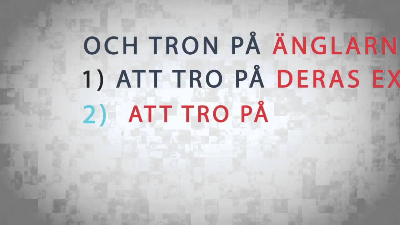 Tron på Änglar || Typografi