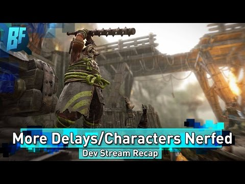 For Honor: Shugoki and Warden are RIP | Patch 1.06 | Dev Stream Recap