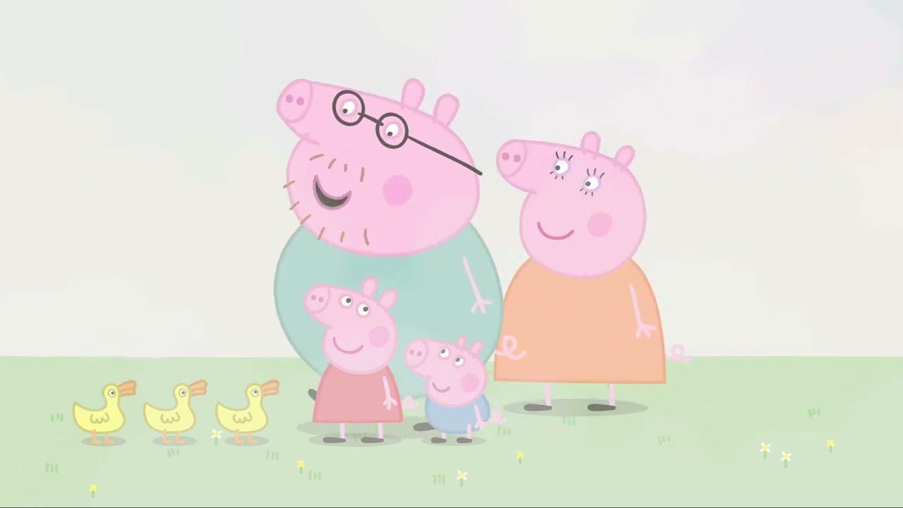 Peppa Pig | Sisli Bir Gün |  Programının en iyi bölümleri | Çocuklar için Çizgi Filmler