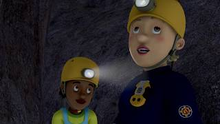 NEW Fireman Sam US 🔥Penny's stuck in a Cave 🚒Fire-fighter's best Saves 🔥Kids Movie