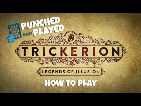 Punched and Played: How to Play Trickerion