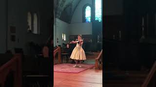 2018 Provincial Final level 7 violin  Laura Fernandez - Fiocco Allegro