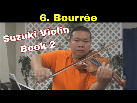 Suzuki Violin School - Book 2 - Bourree