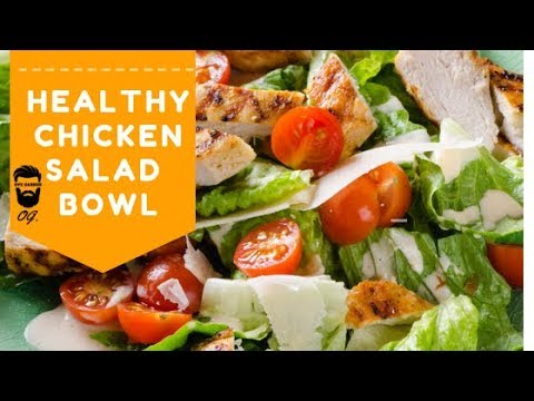 Easy Chicken Salad Recipe | Quick And Healthy Home-made Recipe