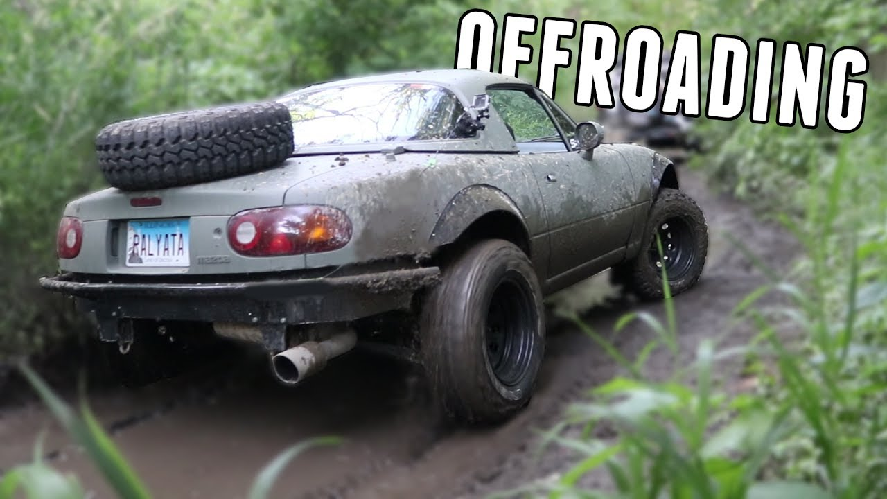 Exploring Amp Offroading In The Lifted Miata Youtube