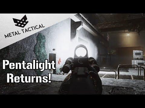 Pentalight Returns! + Magpul AK Factory Run - Escape From Tarkov Gamepay