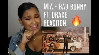 BAD BUNNY FEAT. DRAKE - MIA REACTION | NATALIA GARCIA
