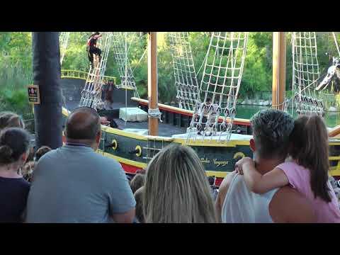 Motin La Venganze de Barbanegra 🚢 Isla Magica theme park Sevilla