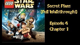 Walkthrough Secret Plans - Lego Star Wars Complete Saga Episode 4 Level 1