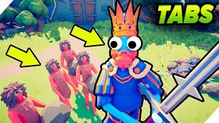 видео: БИТВА КОРОЛЕЙ - TABS 2019 # 2 -11. Totally Accurate Battle Simulator. ТАБС