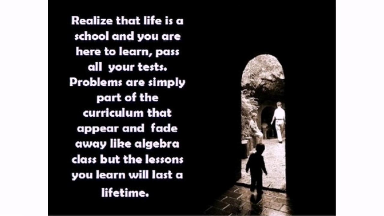 School Life Quotes Youtube