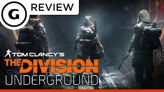 The Division: Underground DLC Review
